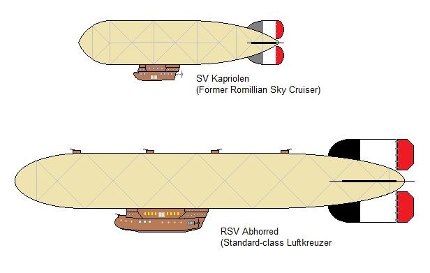 Skycruiser and Luftkreuzer